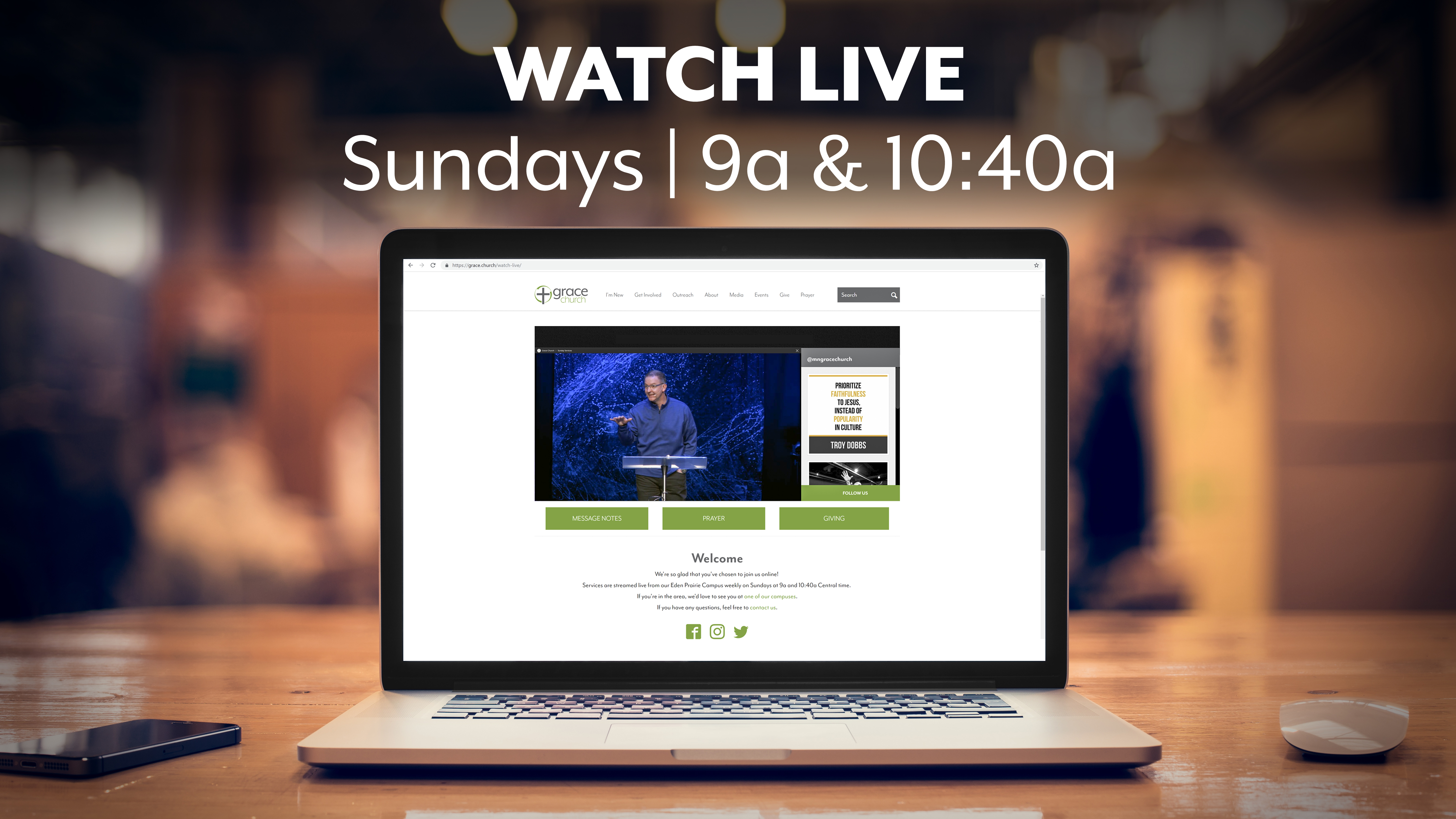 Watch Live | Grace Church